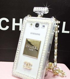 Luxury bling crystal chanel perfume bottle case for iphone 6/6 plus iphone 5/5S iphone 4S/4 samsung Note 4/Note 3/S5/S4/S3