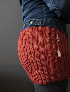 Bum Cosy Knitting Pattern!