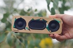 Simple Bluetooth Portable Speaker : 13 Steps (with Pictures) Diy Bluetooth Speaker, Diy Speakers, Monitor Speakers, Projets Raspberry Pi, Homemade Speakers, Speaker Plans, Speaker Box Design, Sound Speaker, Boombox