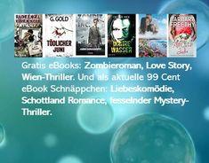 Heute als gratis eBooks: Zombieroman, Love Story, Wien-Thriller. Und als aktuelle 99 Cent eBook Schnäppchen: Liebeskomödie, Schottland Romance, fesselnder Mystery-Thriller. ACHTUNG: Viele Gratis-eBooks & eBook Schnäppchen für kindle, tolino & Co sind nur sehr kurzfristig verfügbar. Thriller, Kindle, Mystery, Ebooks, Tolino, Book Presentation, Revenge, Scotland