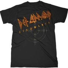Looking for some awesome Pyromania gear? Look no further, here's a classic Def Leoppard Pyromania T-Shirt. Band Merch, Band Shirts, Def Leppard, Bandy, Concert Tees, Workout Shirts, Graphic Tees, Mens Tops, Clothes