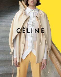Celine Advertisement @Coveteur