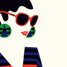 illustration by Malika FavreIlustra