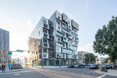 The site forms the north corner of the east side industrial district and is part of the Burnside Bridgehead redevelopment effort. It situates itself at the e...