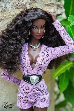 Shared by Carla Doll Clothes Barbie, Bratz Doll, Vintage Barbie Dolls, African American Beauty, African American Dolls, Beautiful Black Babies, Beautiful Outfits, Fashion Royalty Dolls, Fashion Dolls