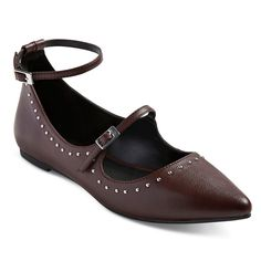Women's A+ Tricia Buckle Pointed Toe Ballet Flats