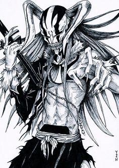hollowfication ichigo - Bleach #manga