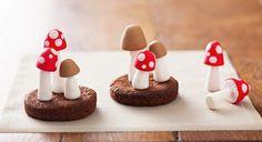 #Vidéo : #comment faire des #champignons en #pâte à #sucre ?
