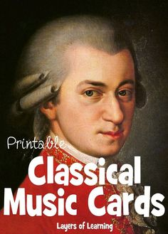 Printable Classical Music Cards