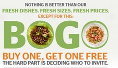SIgn up to receive a Buy One Get 1 FREE Coupon at Pei Wei from TheFrugalFind.com