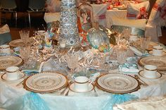 Cinderella table setting