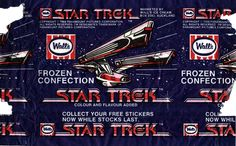 1984 Walls Star Trek III - The Search For Spock Ice Block Wrapper - New Zealand | by NZCollector