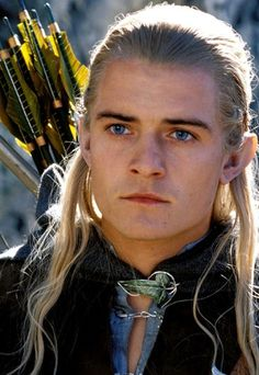 Orlando Bloom as the elf Legolas in Lord of the Rings ... love this man!