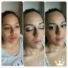 Sweet makeup for a 18 year old. She looked adorable! Airbrush Makeup in Playa del Carmen