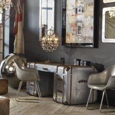 Desks - Globetrekker Aero - Furniture | Timothy Oulton