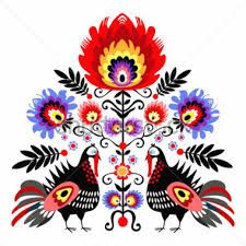 Find Polish ethnic floral embroidery with roosters - traditional folk pattern Stock Images in HD and millions of other royalty-free stock photos, illustrations, and vectors in the Shutterstock collection. Polish Embroidery, Mexican Embroidery, Folk Embroidery, Floral Embroidery, Embroidery Designs, Art Et Illustration, Illustrations, Art Populaire Russe, Polish Folk Art