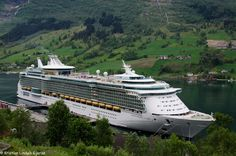 Independence of the Seas in Norway.