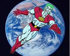 Captain Planet, he's our hero... gonna take pollution down to zero! I still sing this- constantly.