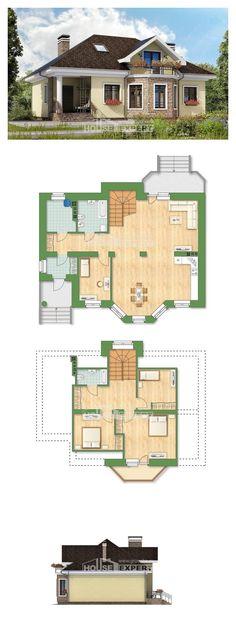 Ev villa projesi 150-008-L | House Expert