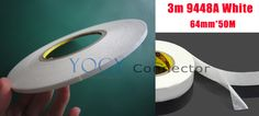 1x 64mm 3M 9448a White Double Sided Tape For Metal Nameplates Rubber Material And Accessories Adhesive |  Get free shipping. We provide the discount of finest and low cost which integrated super save shipping for 1x 64mm 3M 9448a White Double Sided Tape for Metal Nameplates Rubber Material and Accessories Adhesive or any product promotions.  I think you are very happy To be Get 1x 64mm 3M 9448a White Double Sided Tape for Metal Nameplates Rubber Material and Accessories Adhesive in best…