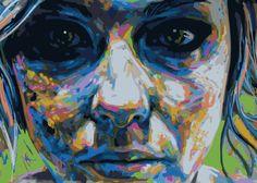 canvas Size: 70x50 cm #streetart #graffiti #print #art #canvas #design #gallery #painting #home #inspiration #girl #canvas