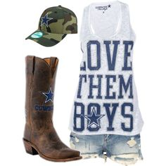 Not a cowboys fan but if I was this is really cute