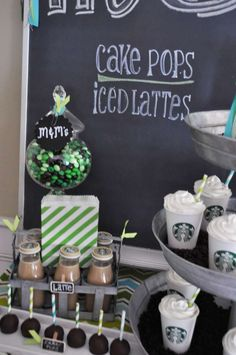 Starbucks Birthday Party Ideas | Photo 4 of 10 | Catch My Party