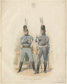 Königl. Schwedische Infanterie Offiziere, 1809