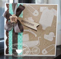 .....Yvonne's Stampin' & Scrap Blog.....: Congratulations! Liftchallenge kaart..