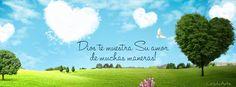 Dios te muestra Su amor de muchas maneras! Portadas para Facebook - Facebook covers