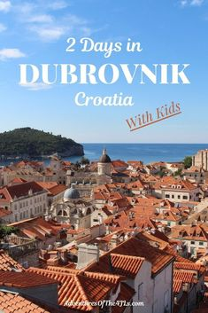 2 Days in Dubrovnik Croatia with kids. This beautiful city is one well worth visiting. The 4 JL's end their international road trip through Bosnia Croatia and Montenegro here. Croatia Travel Guide, Europe Travel Guide, Europe Destinations, Travel Guides, Honeymoon Destinations, Holiday Destinations, Backpacking Europe, Visit Croatia, Dubrovnik Croatia
