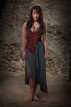 Sura / Spartacus's Wife - Erin Cummings - Spartacus, Blood and Sand