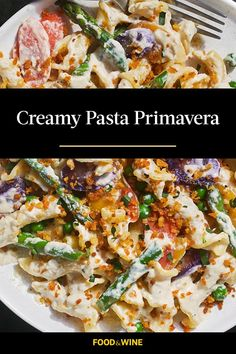 You don't need dairy to make this luscious pasta, thanks to a couple secret weapons: nutritional yeast and macadamia milk.#foodandwine #comfortfood #comfortfoodrecipes