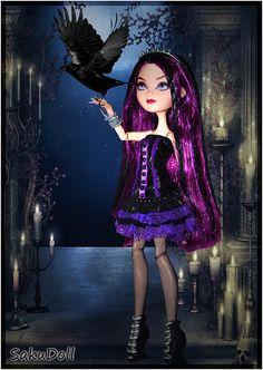 Raven Cuervo by princesitagotica / sakurachan1, Raven Queen