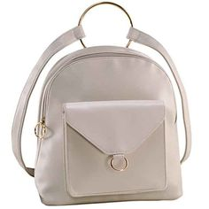 Accesoriul sezonului care nu iti poate lipsi! Material: PVC, culoare: alb. Dimensiuni: 27 x 12 c 28 cm, prevazut cu fermoar, dimensiuni bretea ajustabila: 49-84 cm, 2 buzunare exterioare, buzunar interior prevazut cu fermoar, compartiment pentru telefonul mobil. Avon, Leather Backpack, Fashion Backpack, Backpacks, Boho, Elegant, Interior, Shopping, Classy