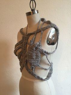 Simonne Hoskins Anatomical Crochet Body Piece