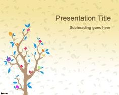 Free resource for presenters including free PowerPoint templates and presentation backgrounds. Background For Powerpoint Presentation, Powerpoint Background Templates, Powerpoint Template Free, Powerpoint Presentation Templates, Powerpoint Presentations, Microsoft Powerpoint 2007, Cartoon Trees, Cool Paper Crafts, Tree Templates