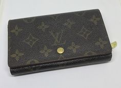 A personal favorite from my Etsy shop https://www.etsy.com/listing/499195610/louis-vuitton-monogram-wallet-vintage