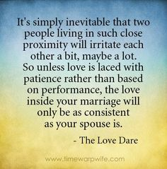 Wow! What a smack in my face. I need to memorize this and carry it in my heart everyday. My wife deserves this from me. @Carly Marlar (Stone)