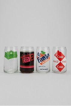 Old School Soda Glass - Set Of 4