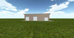 3D #architecture via @themuellerinc http://ift.tt/2eZAGIL #barn #workshop #greenhouse #garage #DIY