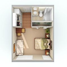 Phenomenal 18 Coolest Studio Apartment Layout https://decoratoo.com/2018/02/16/18-coolest-studio-apartment-layout/ For you who are currently planning on living in a studio apartment, or even has already purchased one, you need the layout of the apartment so that it will be easier to decorate it.