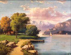 Hoca Ali Riza -  Peyzaj (Landscape)