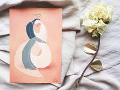 Kétségkívül az egyik kedvencünk ez az igazán ötletes szimbolikával játszó finom illusztráció. Kormos Dorka alkotása.