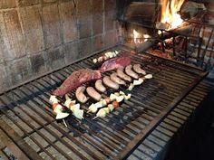 Asado grill in Uruguay.