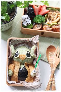 May the force be with you. Star Wars Japanese bento box.