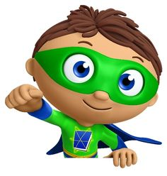 Super Why Character