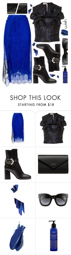 """#PolyPresents: Wish List"" by sunnydays4everkh ❤ liked on Polyvore featuring 3.1 Phillip Lim, Delpozo, Balenciaga, Yves Saint Laurent, Gucci, Balmain, contestentry and polyPresents"