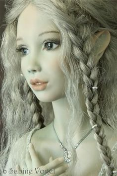 """Haze Dolly: Forgotten Dolls & Spooky Simulacra — """"Fee""""  One of a kind porcelain ball-jointed art..."""
