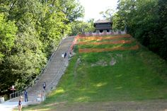 The Stairs at swallow cliff in Palos Illinois Illinois, Golf Courses, Health Fitness, Chicago, Swallow, Cliff, Places, Stairs, Stairways